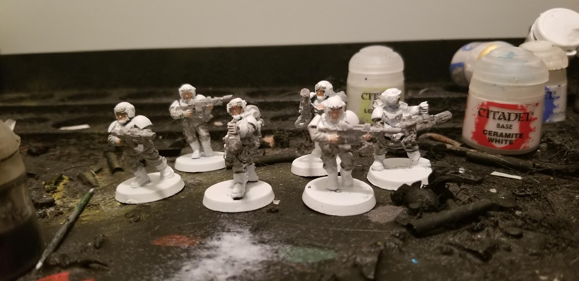 Second weapon squad