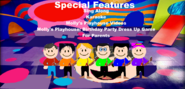 Wonderful Rainbow Special Features