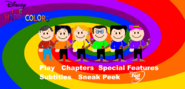 The Happy Colors Safety Video Main Menu
