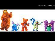 Bear in the Blue House Cast - The Bear Cha-Cha-Cha