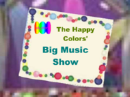 The Happy Colors' Big Music Show