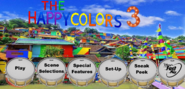 The Happy Colors 3 Main Menu