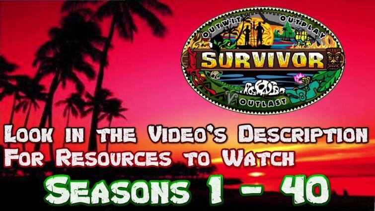 Survivor Seasons 1-40: Survivor Treasure Trove -- resources