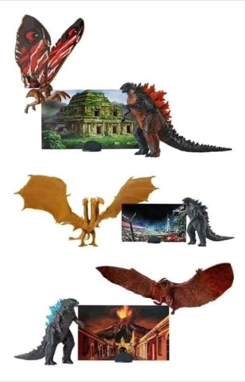 Godzilla figuras. 🐲🐉
