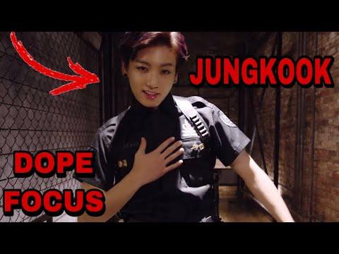 Focus Jungkook in DOPE MV