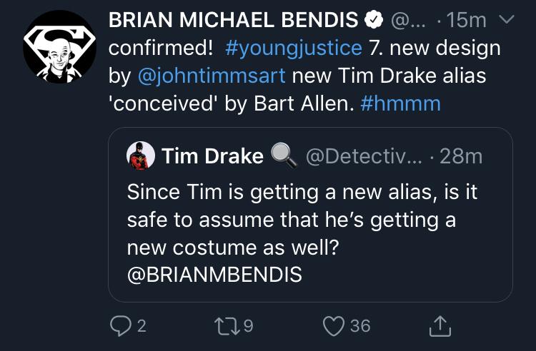 Tim Drakes New Alias