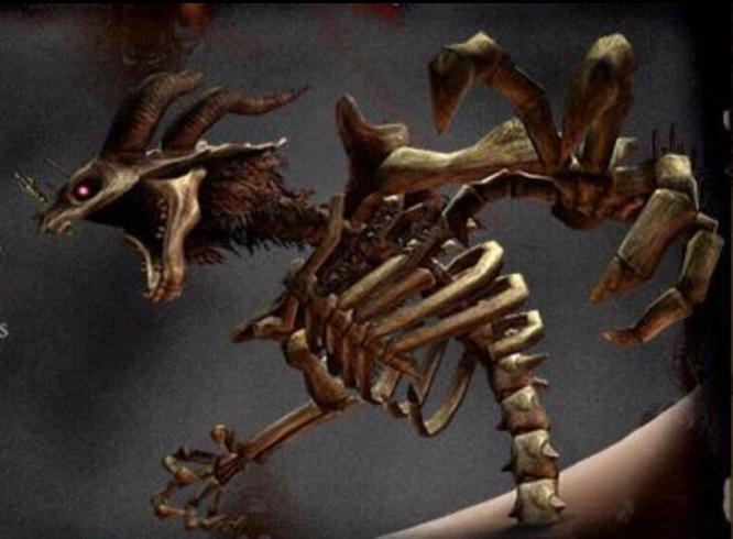 Squelette de Humbaba