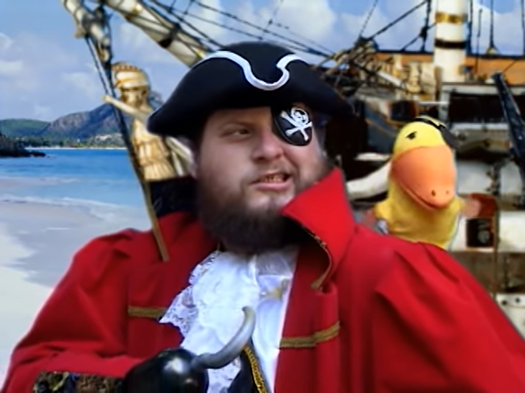 Pirata pata de palo