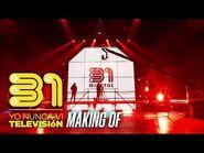 31 minutos - Show «Yo nunca vi televisión» - Making of streaming con AC-DC de fondo