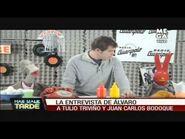 """Álvaro Escobar entrevista a 31 Minutos (""""Más Vale Tarde"""" de Mega)"""