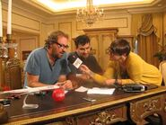 Entrevista a Tulio y Bodoque en radio ADN, making of - 1-6-2012