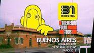 """31 minutos - Invitación """"Tremendo Tulio Tour"""" en el BAFICI 2018 (Buenos Aires, Argentina)"""