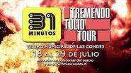 31 minutos - Tremendo Tulio Tour - Anuncio Teatro Municipal de Las Condes 2018