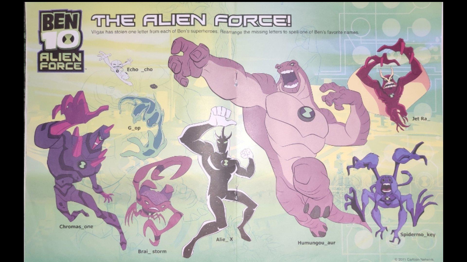 The Alien Force