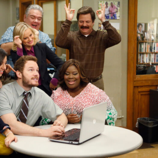 Amy Poehler Is Ready for a 'Parks and Rec' Reunion
