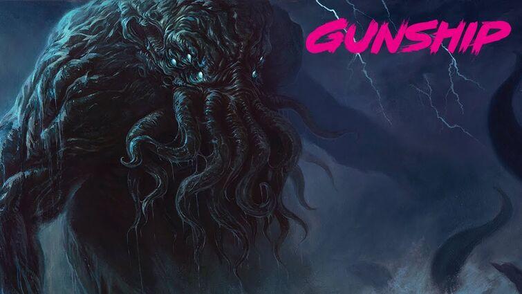 GUNSHIP - CTHULHU (feat. Corin Hardy) [Official Audio]