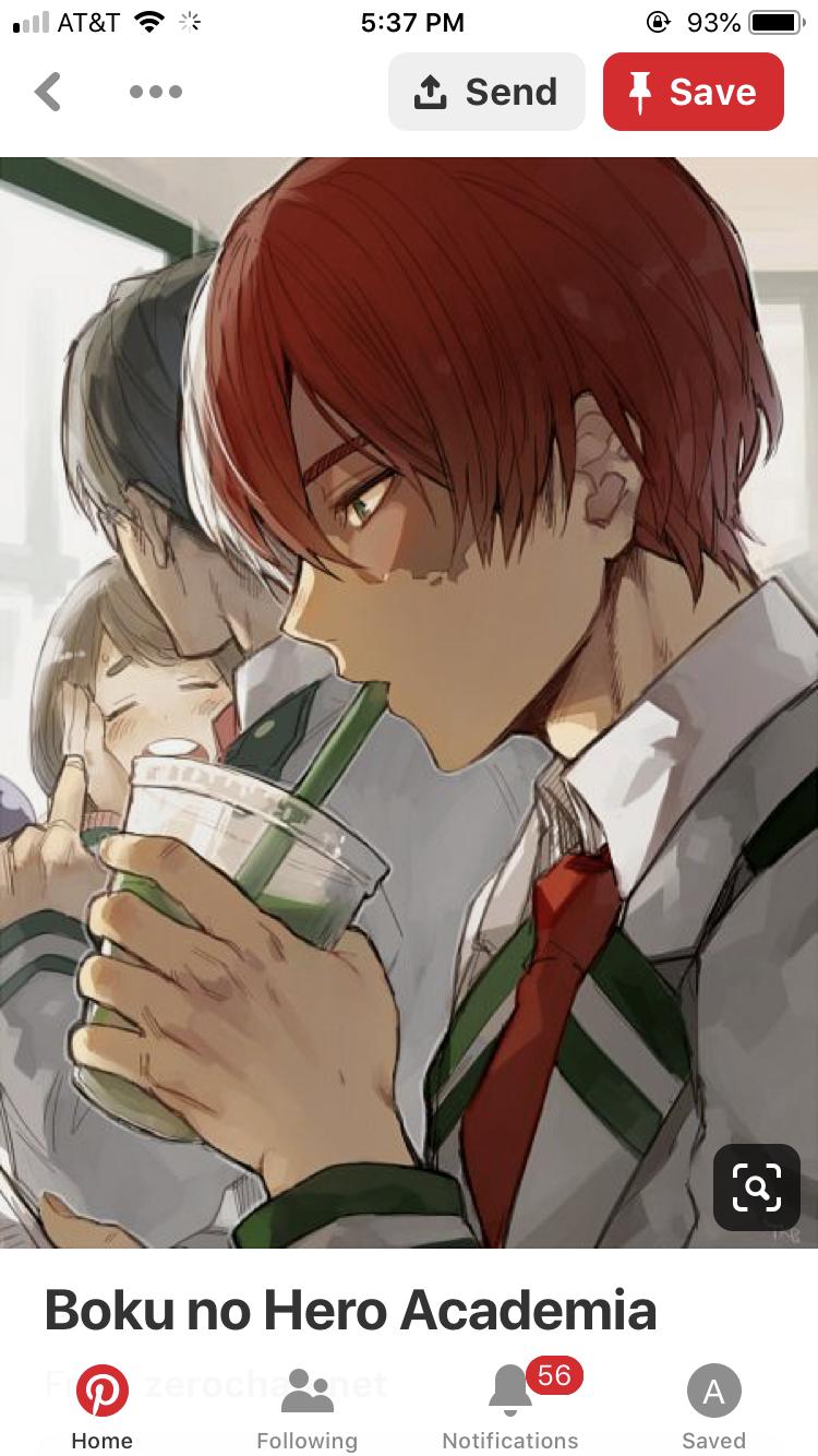 Starbucks And My Fav Anime In One Pic Fandom