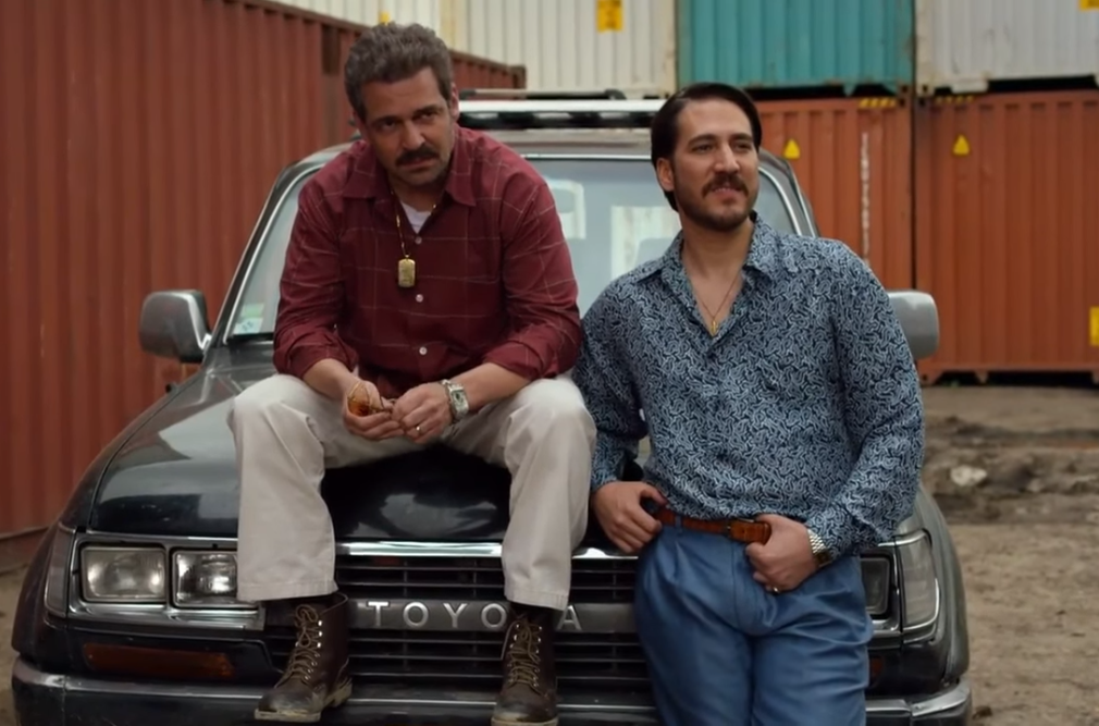 Chepe and Pacho watch as the Cali cartel take over the Buenaventura port from the Norte del Valle cartel