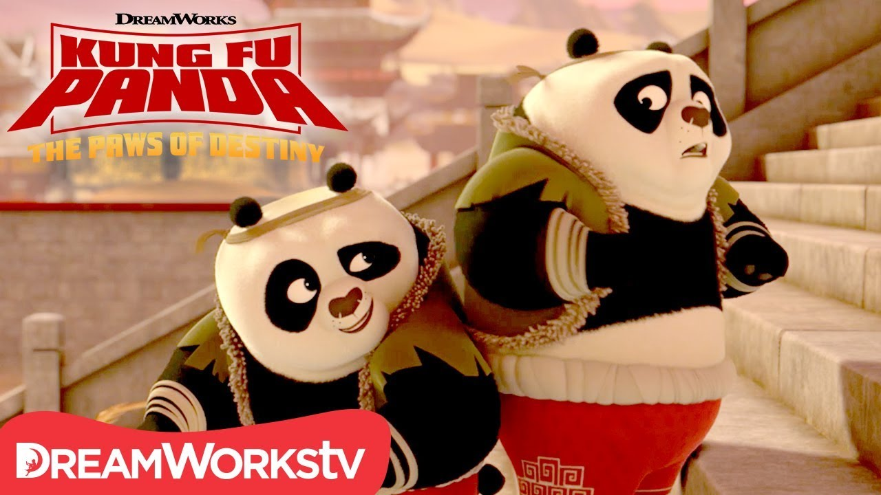Panda Double Trouble | KUNG FU PANDA: THE PAWS OF DESTINY