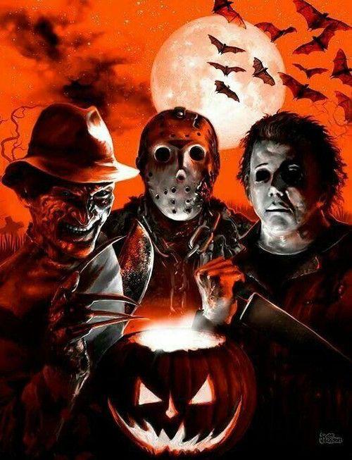 Happy Halloween! 🎃🔪🤡👺👹🎃💀😈