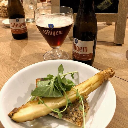 """Love Food on Instagram: """"Thanks again to @affligembeer for having us in Belgium and providing us with delicious food and even tastier beverages 🍻 #heineken #affligem"""""""