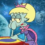 Queen Squidward