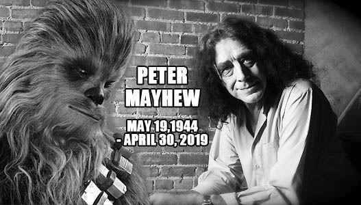 Nie żyje Peter Mayhew