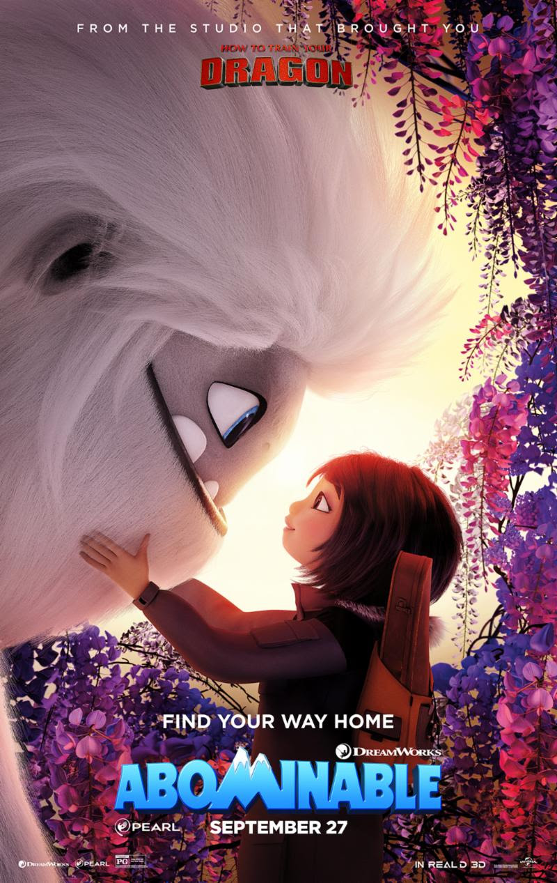 Abominable?? A new era after HTTYD?? I Just saw the trailer recently and the movie will fail.