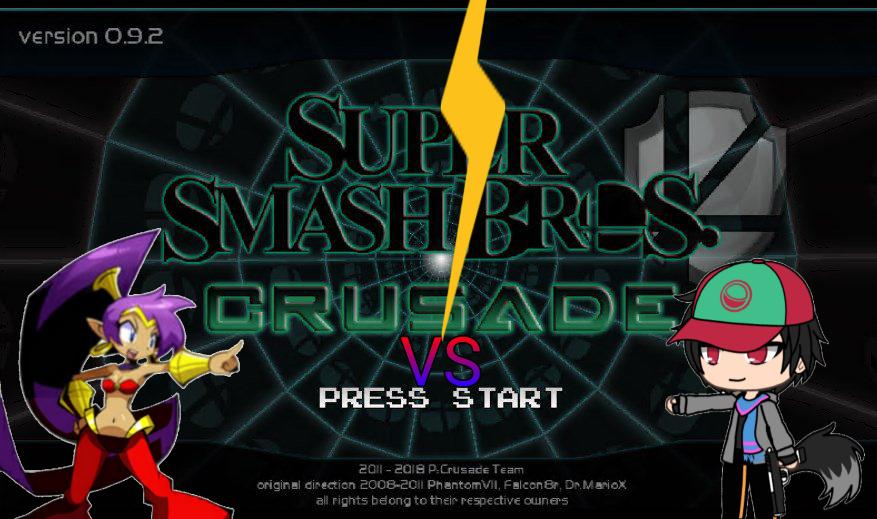 Battle in a game :v