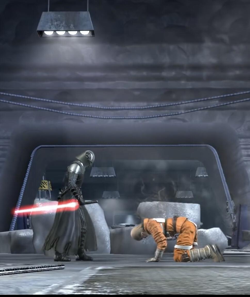 Luke Skywalker als Schüler von Lord Starkiller?