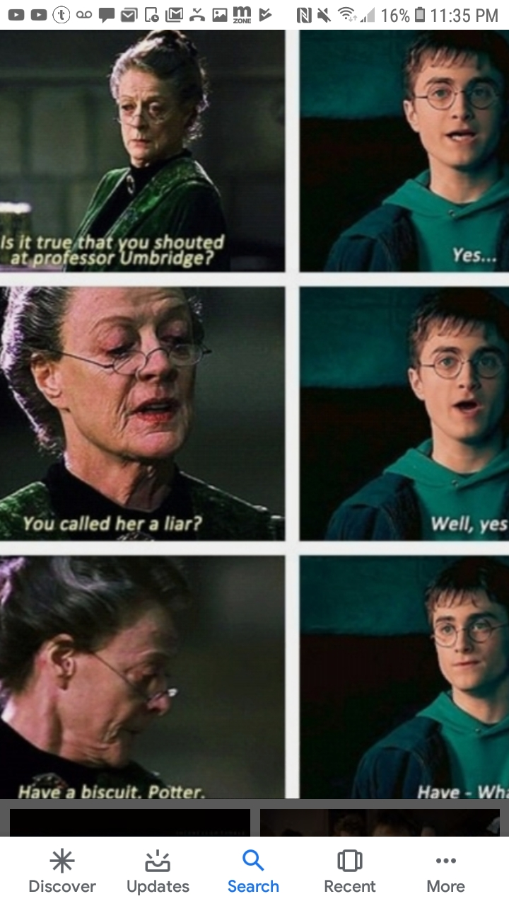 Mcgonagall isn't the only one that doesn't like umbridge