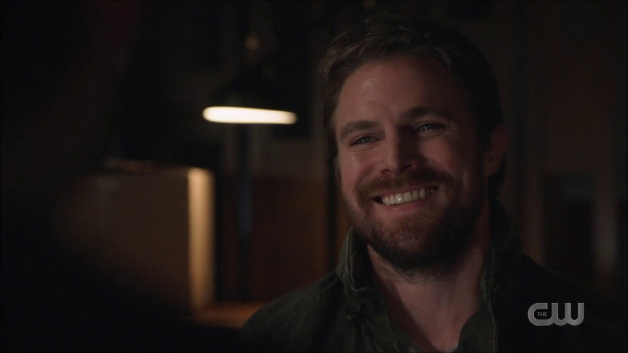 Arrow - 8x04 - Oliver, William and Mia Scenes Part 2 - William coming out to Oliver