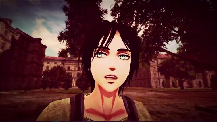 Eren finds out the truth about Annie (AOT VR)