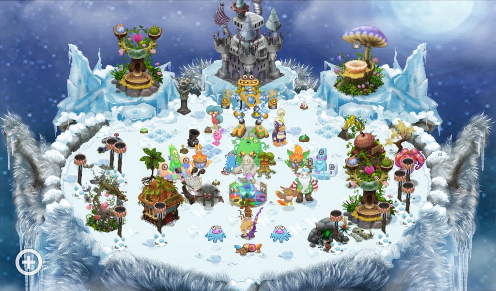 Finished Redecorating Cold Island (Kind Of)
