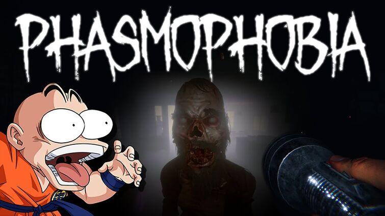 Krillin Plays Phasmophobia Feat. Vegeta