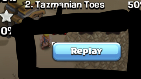 "Just an annoyance, the ""Replay not Available"" is still hidden behind the ""Replay"" button."