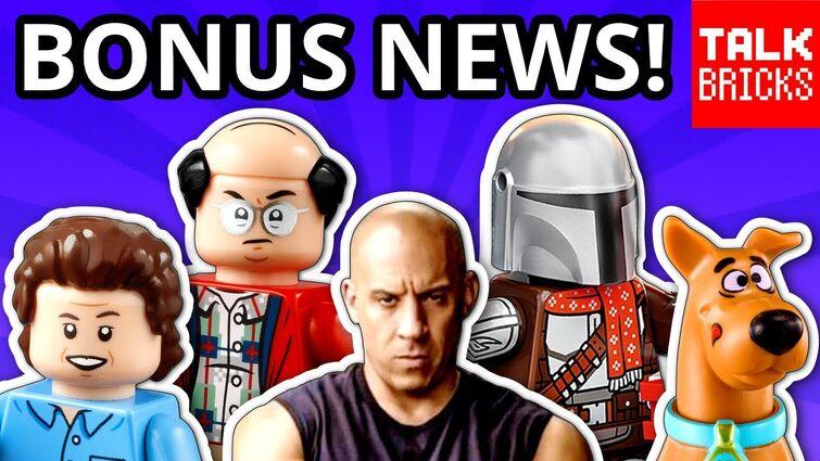 BONUS LEGO NEWS! LEGO Fast & Furious Movie?! Seinfeld! More Ninjago City! Scooby Doo! Comic Con 2021