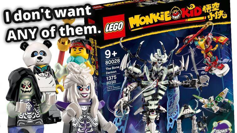 LEGO Monkie Kid Summer 2021 sets! I think I'll SKIP this wave.