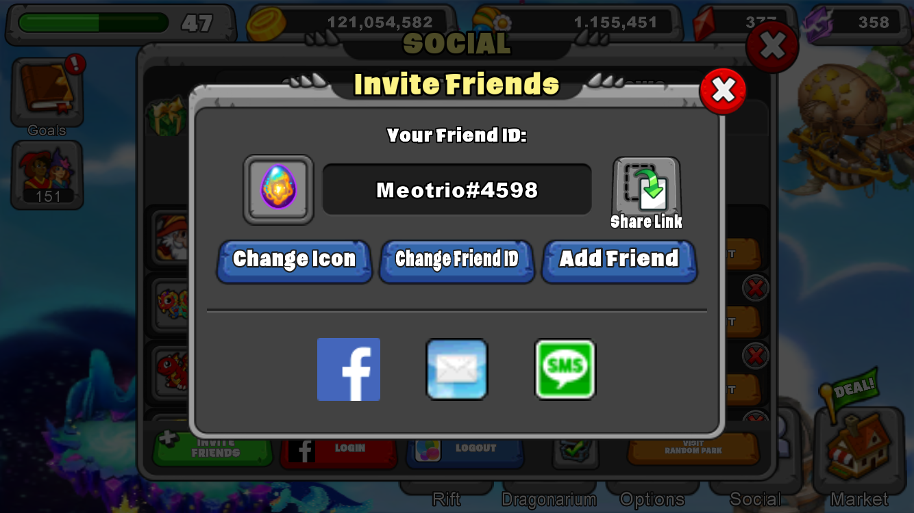 The more friends the merrier.  We can gift or share dragons. Add me 😀
