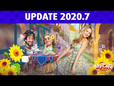 My Cafe Update 2020.7 Announcement!