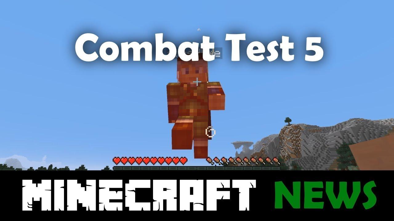 What's New in Minecraft Combat Test Snapshot 5?