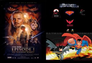 Star Wars Episode I The Phantom Menace The New Batman Superman Adventures