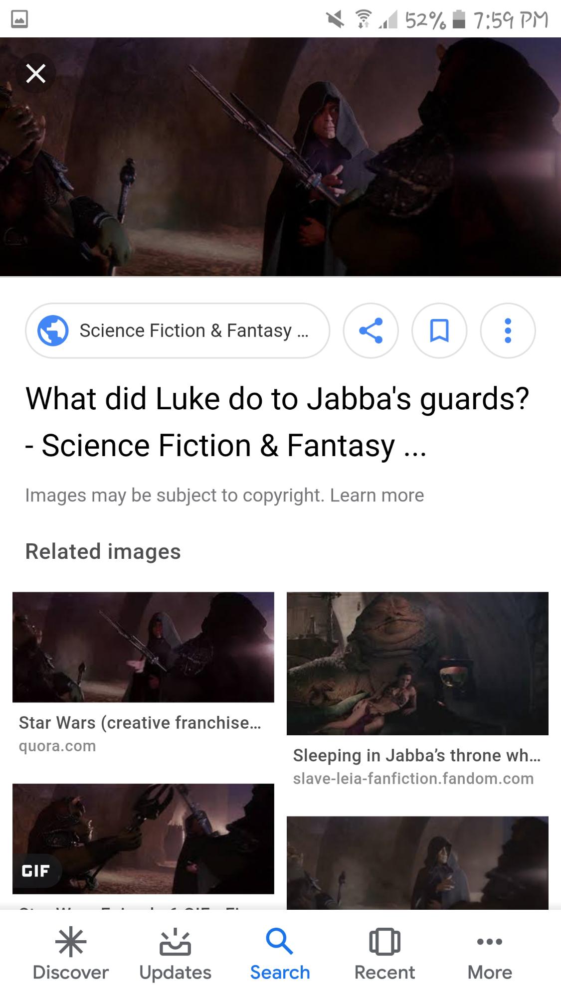 Can Luke use dark side force powers like what?