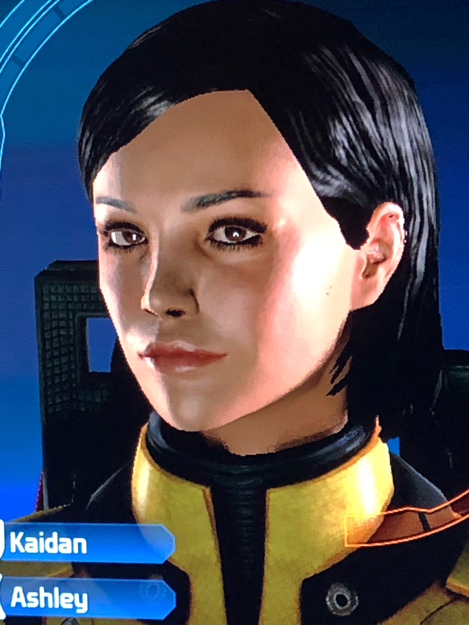 I feel like it's really hard to make a really attractive character in Mass Effect 1.