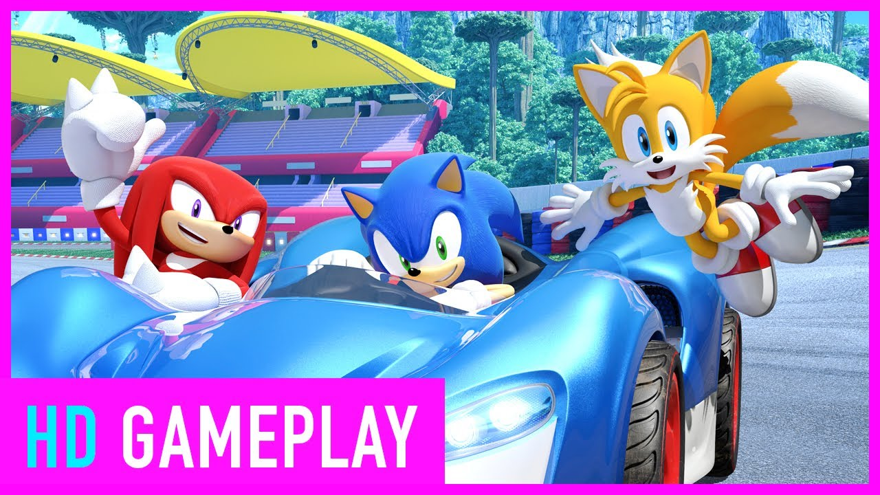 Team Sonic Racing - 8 Minutes Of New Gameplay