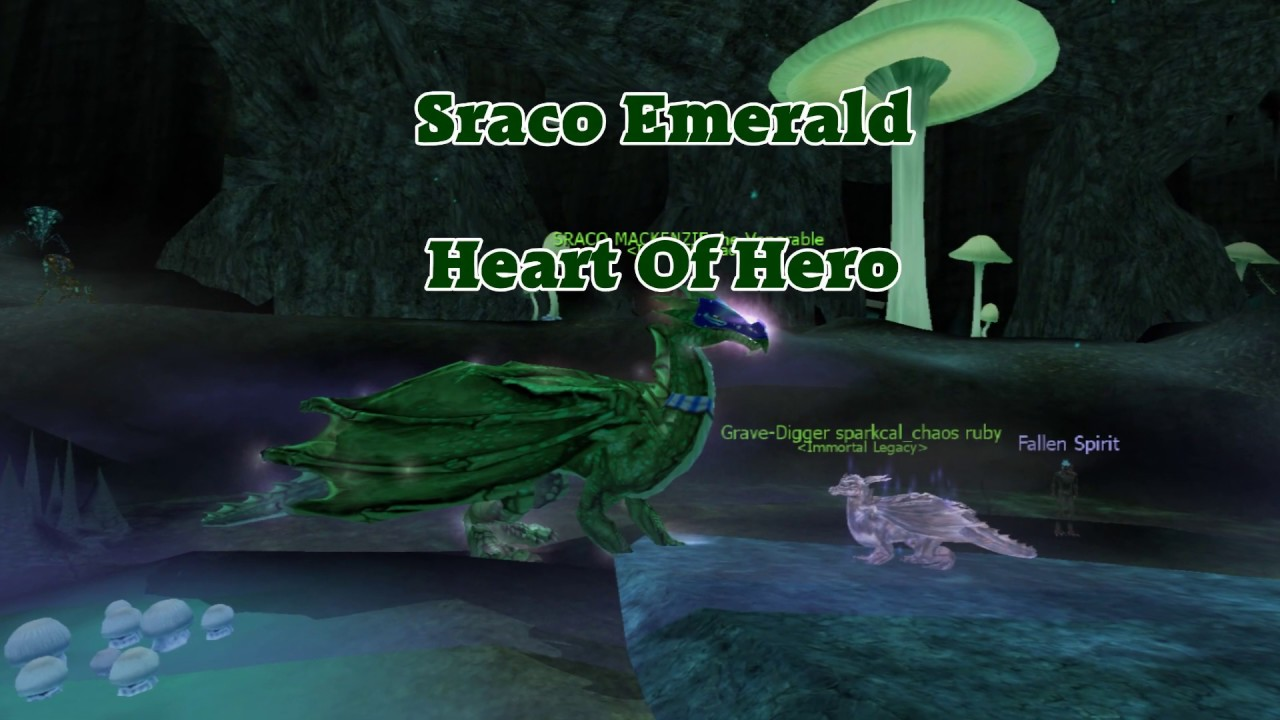 Sraco Emerald Heart Of A Hero