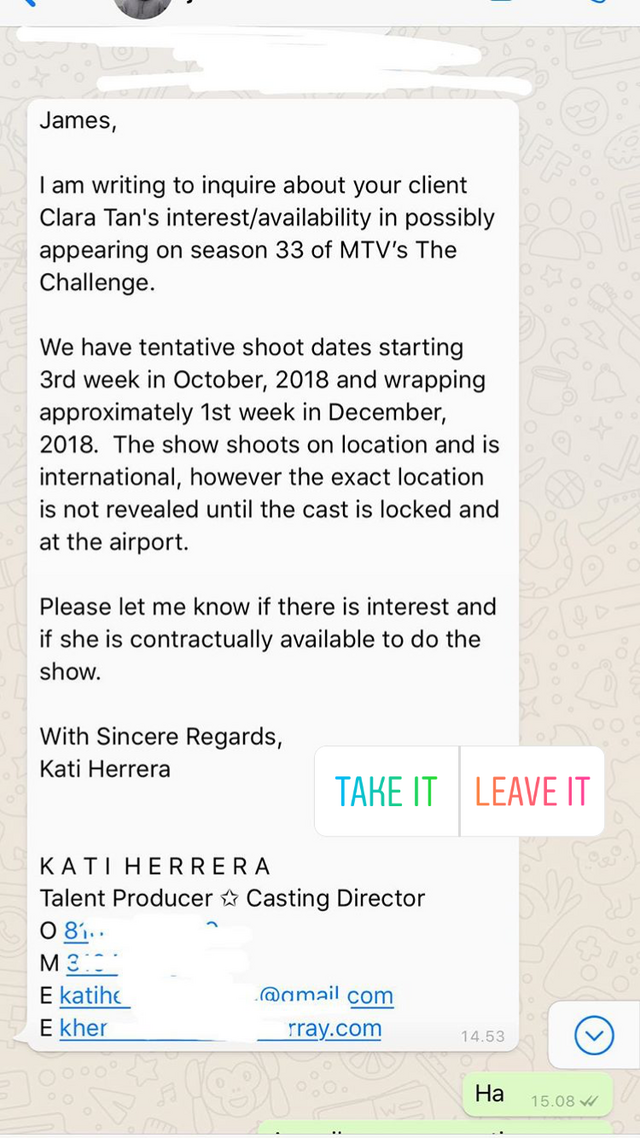 No Casting News for Upcoming Seasons? : MtvChallenge