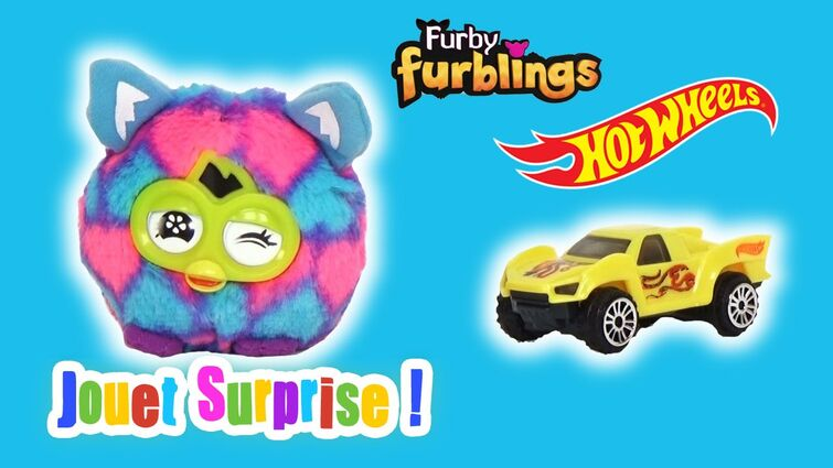 Furby Furblings - Hot Wheels Jouet Happy Meal Mc Donald's Nov 2015 part2 - JOUET SURPRISE