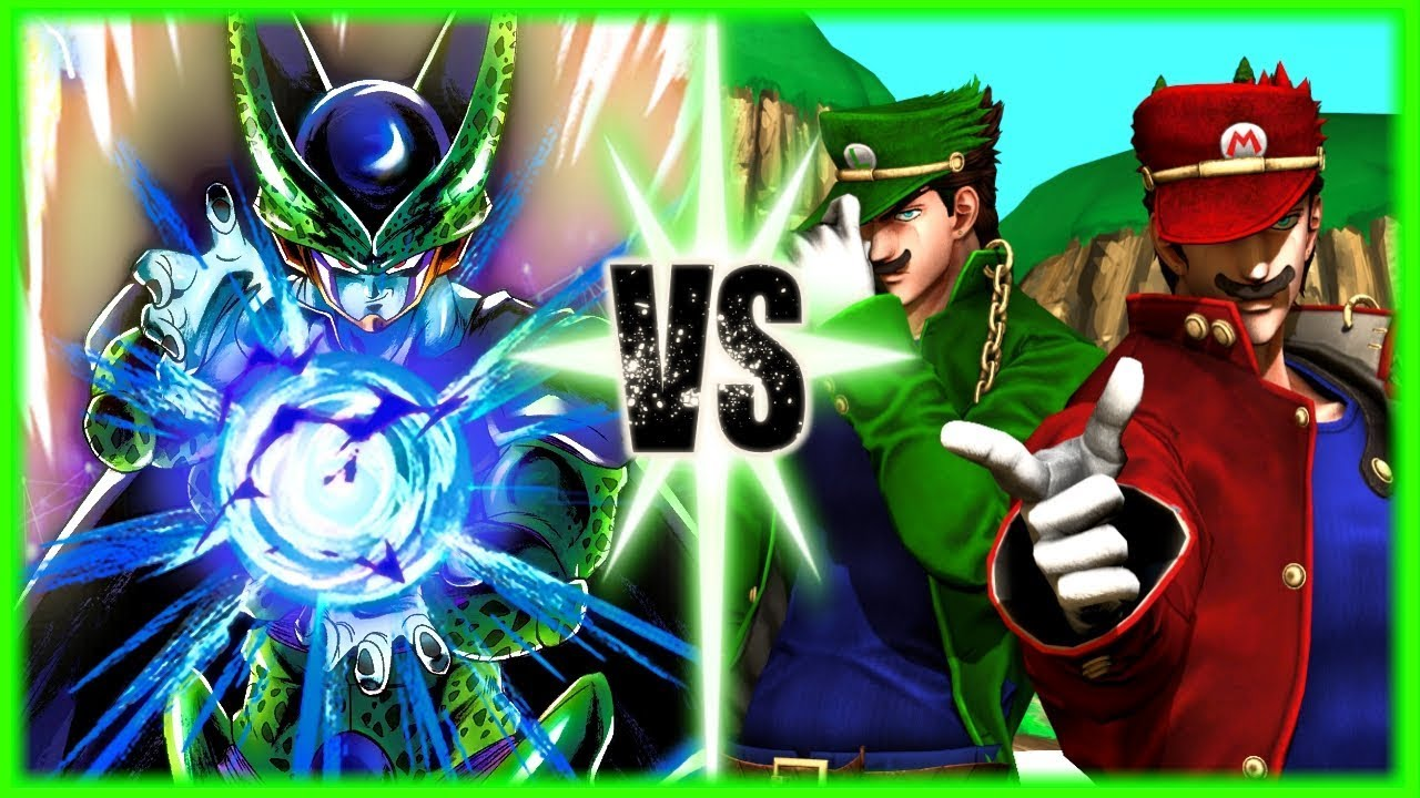 Perfect Cell Vs Mario and Luigi