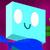 Cyan cube